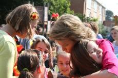 Bezoek Koningin Mathilde